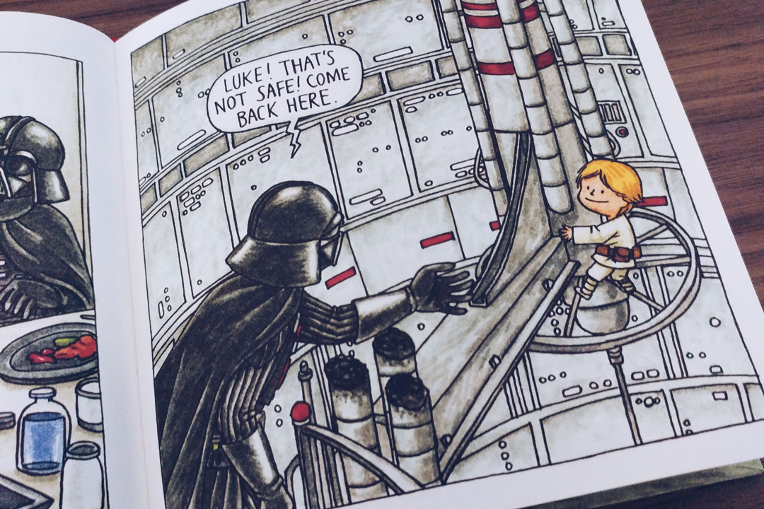 04-jeffrey-brown-star-wars-vader-little-princess-darth-vader-and-son-good-night-goodnight-darth-vader-livros-que-amamos-ilustracao-inspiracao-um-cafe-pra-dois